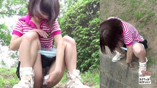 AH-021 AMATEUR SHITTING CLUB's peeing scenes compilation