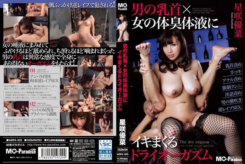 [MOPA-025] 男の乳首x女の体臭体液にイキまくるドライオーガズム 2015/05/13 監禁・拘束 Squirting