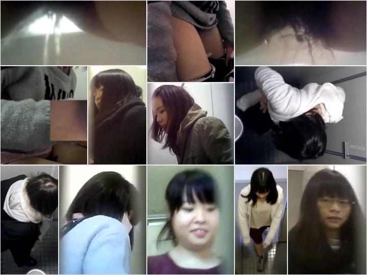無修正 和式トイレ美女の極太うんこ Pooping Toilet Voyeur Spy Camera