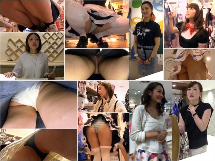 超かわいいコスプレ美少女のパンツ Japanese Public Upskirt Spy Camera