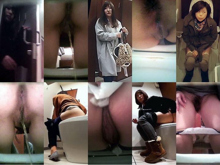Pooping Voyeur Toilet 秘密の花園 熟女編 D Spy Camera