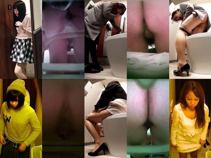 無修正和式トイレ週末価格 若い女の子大音 Toilet Voyeur Spy Camera