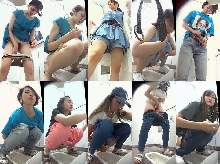 Toilet Voyeur  美人なお姉さんのトイレしてるところ Spy Camera