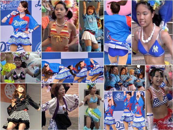 Japanese Upskirt Performance 31-33 キャピキャピJ●チアガール!�… Spy Camera