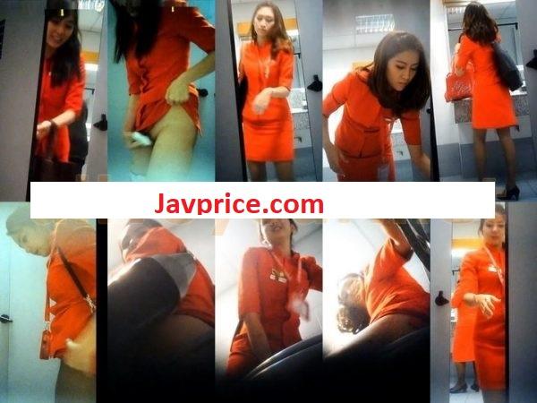 Amateur Pee Voyeur AirAsia airport toilet