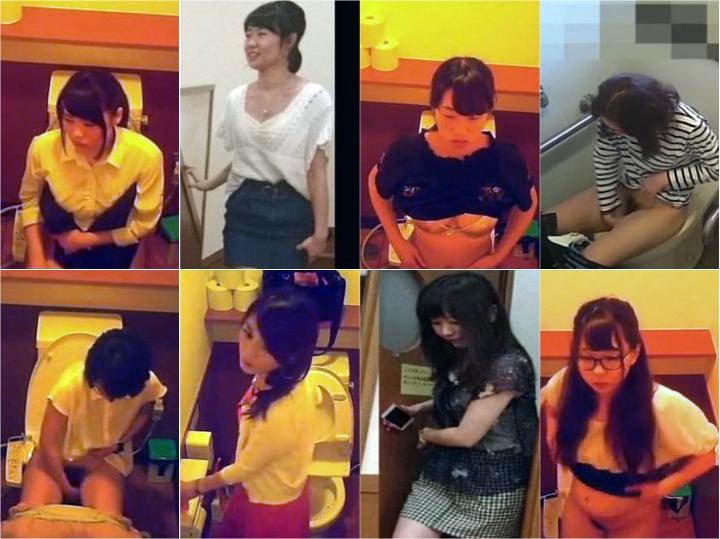 Girls on the Toilet ガチ撮りトイレ盗撮(S~熟女)30名以上 Spy Camera