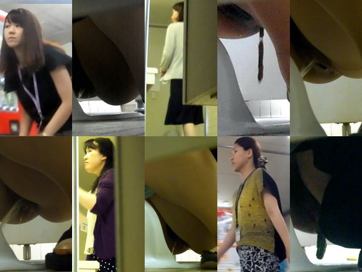 Toilet Spy Cam 永久保存版 No27のあの子を遂に!!モンナさん�… Spy Camera