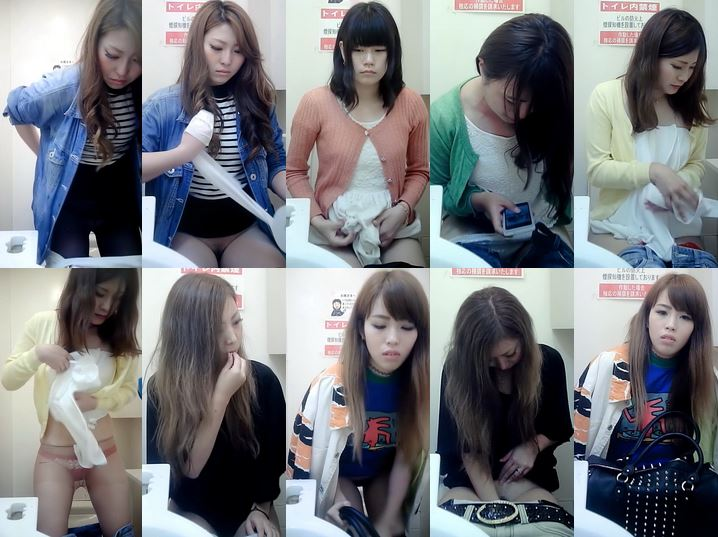Beautifulgirlwc10-12 新美女コンビニ10-12 Toilet Voyeur Spy Camera