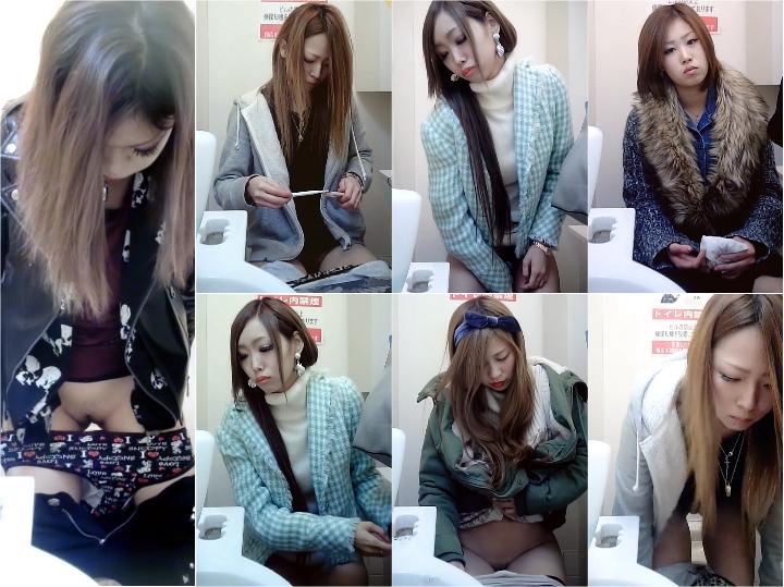 美女コンビニトイレ1-3 Japanese Voyeur Toilet Teens Spy Camera