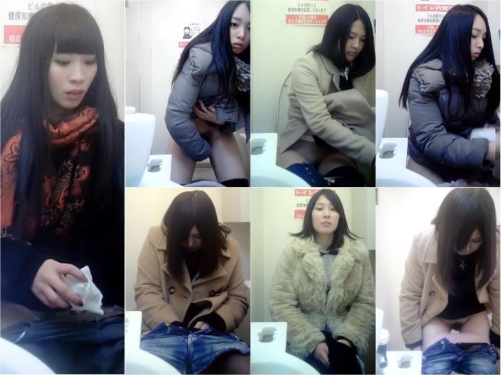 美女コンビニトイレ4-6 Toilet Voyeur Japan Spy Camera