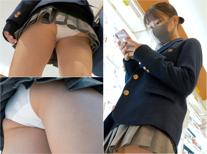 Spy Camera 【FHD-bri25】長身美人JDへの対面パンチラ撮りUpskirt