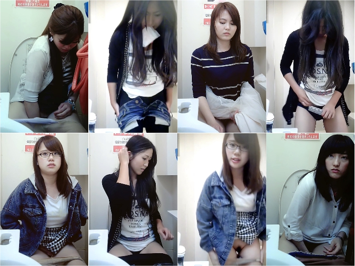 Spy Camera Girls on the Toilet K的な個室観察 No.062