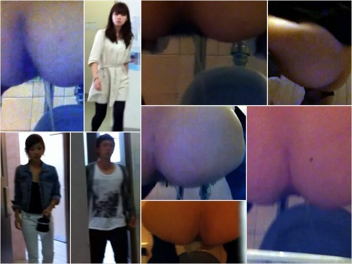 Spy Camera Smell Fetish Toilet wc4 聖水 10人