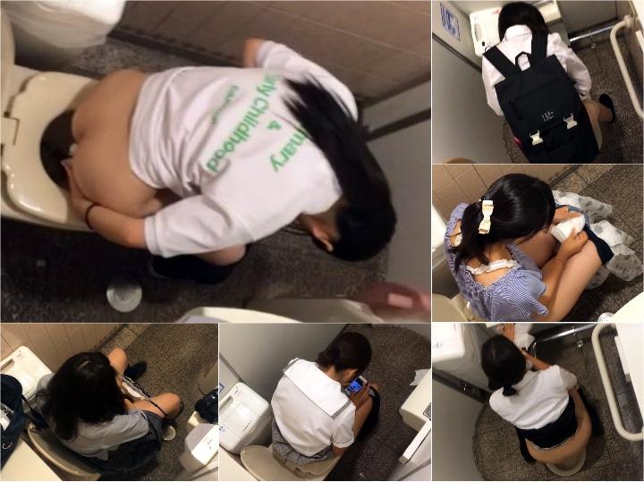 Spy Camera 韓国施設警備員6 Japanese Voyeur Toilet