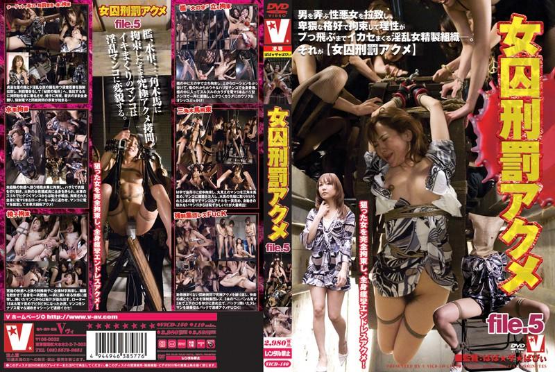 VICD-140 女囚刑罰アクメ file.5 ヴィ