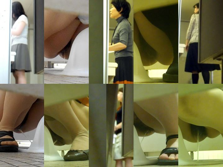 Toilet Spy Cam 顔は最高!がっかりマ〇コ☆真っ黒~変形ま Poop Bath