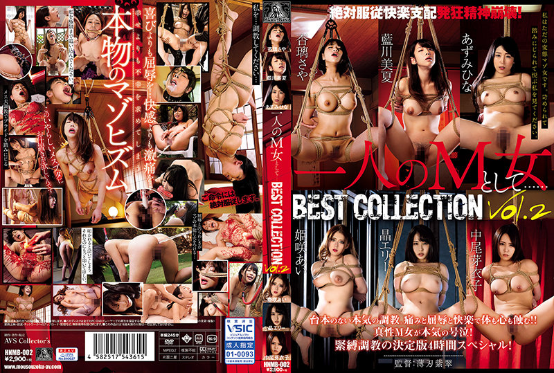 HNMB-002 一人のM女として.BEST COLLECTION Vol.2 AVS collector's