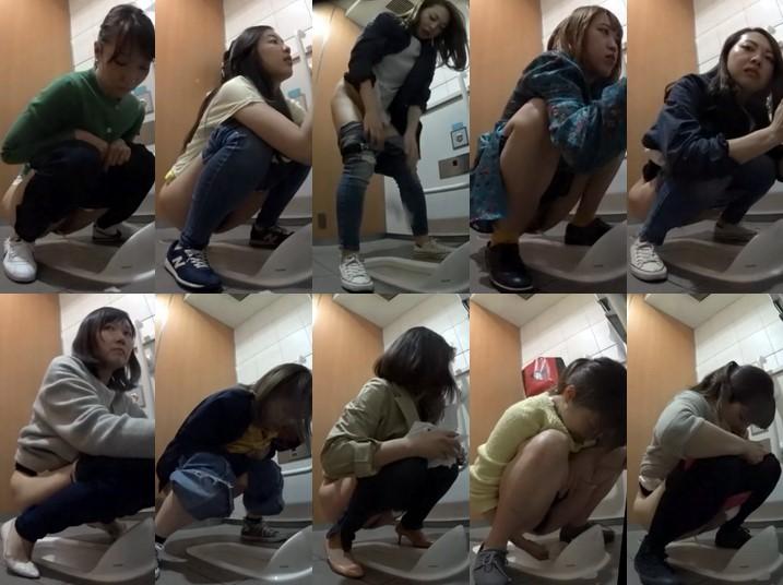 Splash Toilet 無修正 【新作】トイレ盗撮シリーズ(2カ Spy Cam