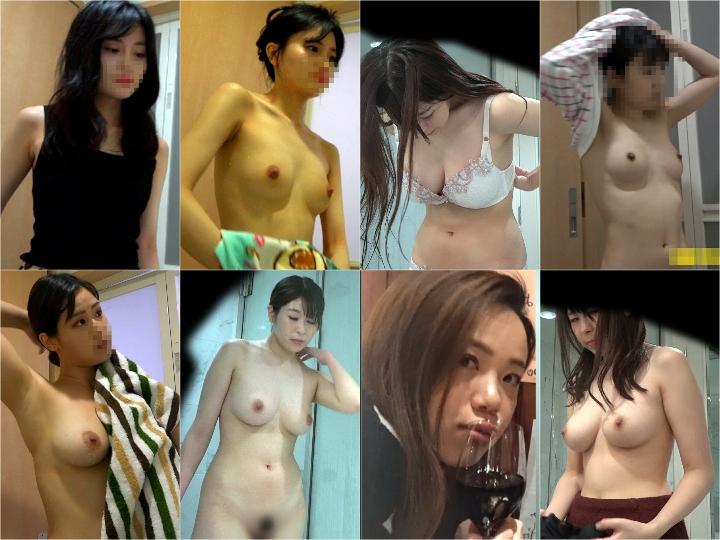 Spy Camera Changing Room【え!ウソ!激カワJDが風呂場でじょぼぼ~